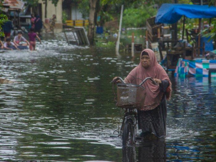 Banjir di Banjarmasin Meninggi Akibat Curah Hujan, Warga Diminta Waspada!