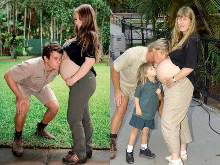 Putri Steve Irwin Ini Ciptakan Kembali Momen Spesial saat Bersiap Lahirkan Bayi Pertama