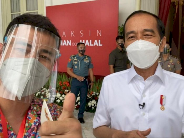 Istana Tegur Raffi Ahmad karena Tak Jaga Protokol Pasca Vaksinasi