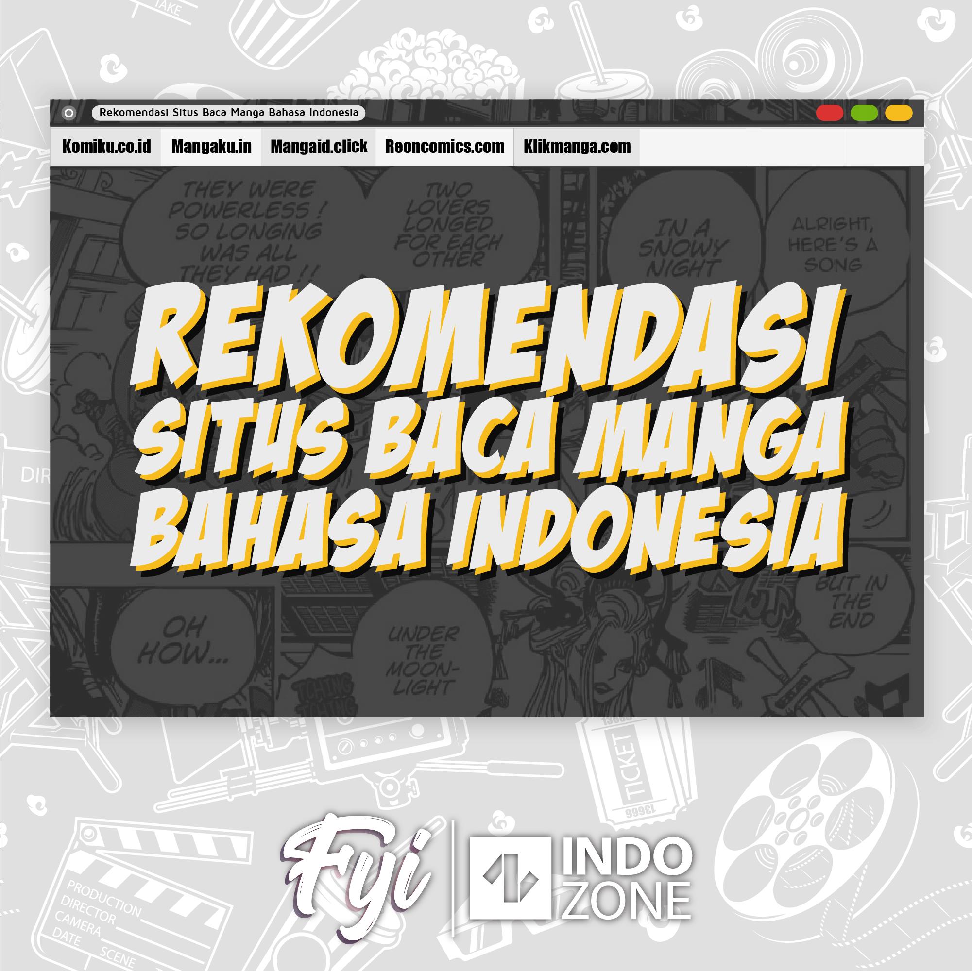 Rekomendasi Situs Baca Manga Bahasa Indonesia