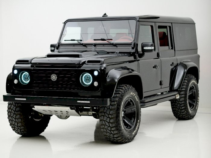 Land Rover Defender 110 Ini Hadir Agresif dan Mewah Usai Dirombak Ares Design