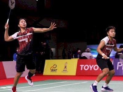 Ganda Putri Greysia/Apriyani Berhasil Melaju ke Babak Final Thailand Open 2021