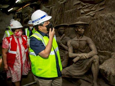 Heboh Penemuan Relief dan Patung Kuno di dalam Gedung Sarinah, Berusia Setengah Abad