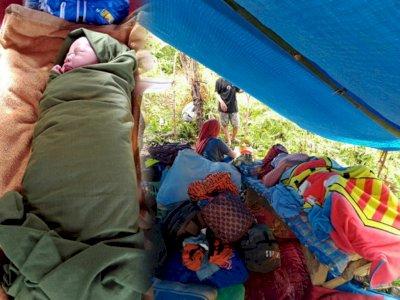 Breaking News! Dua Ibu Melahirkan di Tengah Pengungsian di Mamuju Saat Makanan Habis