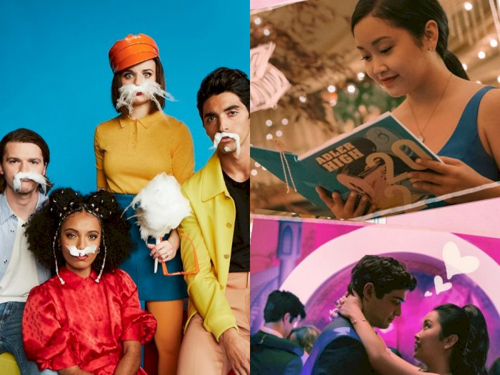 Film Komedi Romantis 'The Kissing Booth 3' & 'To All The Boys 3' Akan Berakhir Tahun Ini