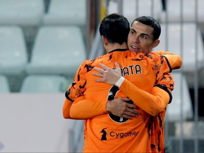 Bangga Bisa Bermain dengan Ronaldo, Morata: Kelak akan Saya Ceritakan ke Anak-Anak