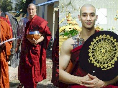 Viral Potret Biksu Ganteng dari Myanmar yang Viral di Media Sosial, Ini Dia Sosoknya