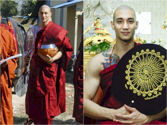 Viral Potret Biksu Ganteng dari Myanmar yang Ramai di Media Sosial, Ini Dia Sosoknya