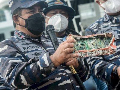 Baru Temukan Casing CVR Kotak Hitam Sriwijaya Air, SAR Gabungan Fokus Temukan Memori CVR