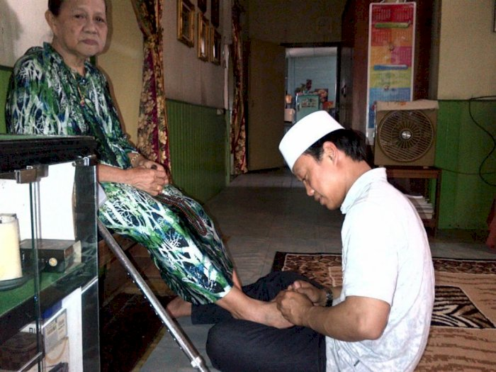 Mengejutkan, Cerita Ustaz Latif Terhindar dari Maut Saat Gempa Sulbar Usai Besuk Ibunya