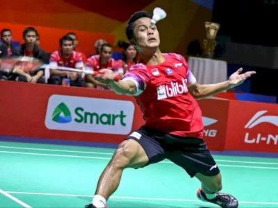 Anthony Sinisuka Ginting Dikabarkan Gagal ke Final Thailand Open
