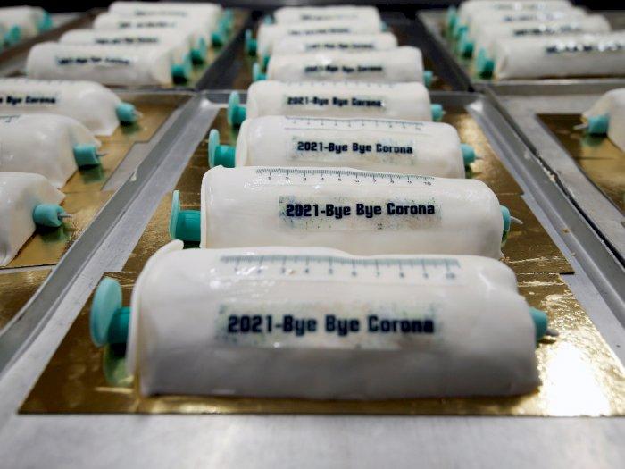 Unik, Toko Roti Jerman Ini Bikin Kue Bentuk Jarum Suntik, Terinspirasi dari Vaksin Covid