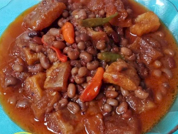 Intip Resep Sambal Goreng Krecek Kacang Merah