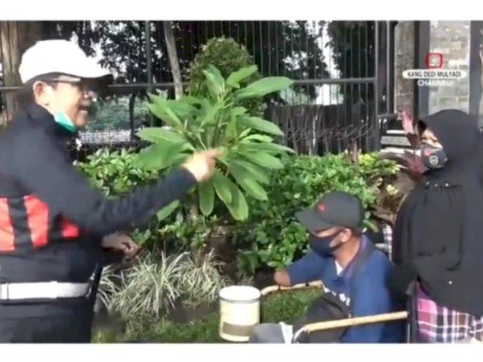 Anggota DPR RI Dedi Mulyadi Murka, Pasutri Pengemis yang Pernah Dibantunya Mengemis Lagi