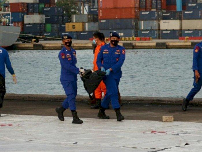 Memasuki Hari Kedelapan, Basarnas Evakuasi 17 Kantong Jenazah Korban Sriwijaya Air SJ182