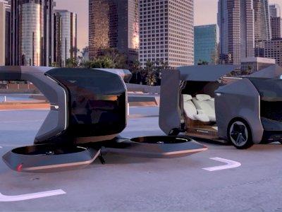 General Motors Pamerkan Mobil Terbang Listrik, Miliki Konsep Minimalis dan Futuristis
