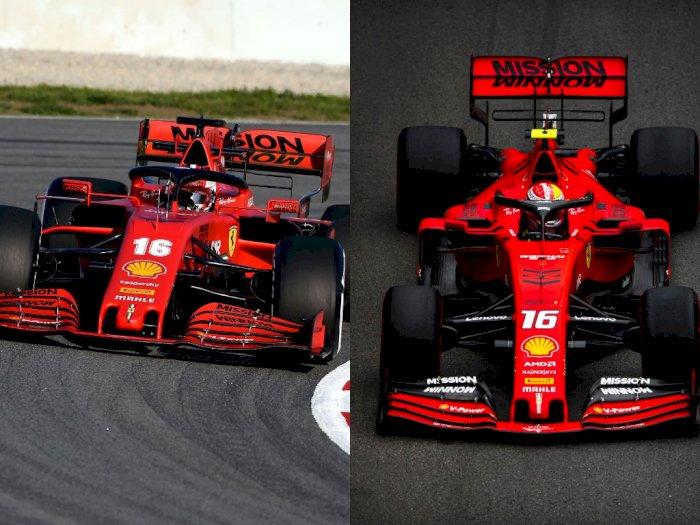 Sempat Picu Kontroversial, Sponsor Mission Winnow  Kembali Muncul di Mobil F1 Ferrari