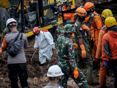 Update Longsor Sumedang: 28 Korban Meninggal Berhasil Ditemukan, 12 Orang Masih Hilang