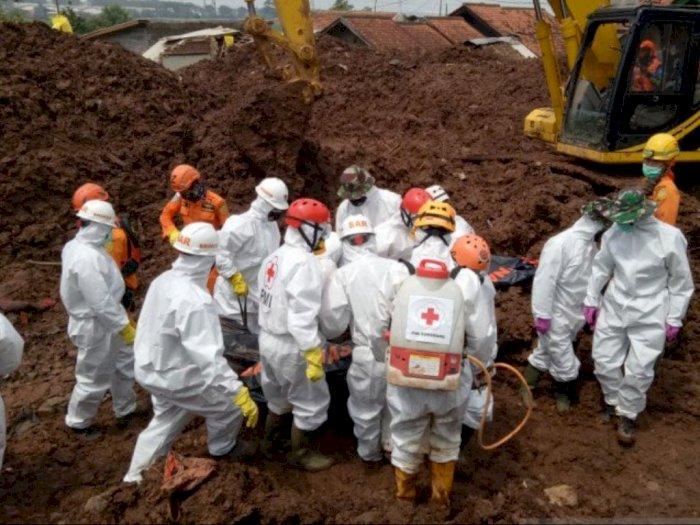 Bertambah Tiga Orang, Tim SAR Sudah Temukan 32 Korban Tewas Akibat Longsor di Sumedang