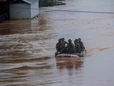 LAPAN Sebut Penyempitan Hutan Meningkatkan Risiko Banjir di Kalimantan Selatan
