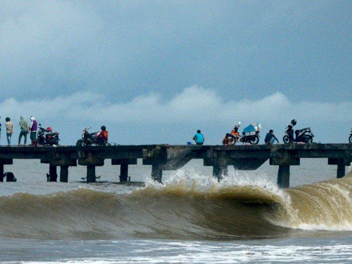BMKG Ingatkan Adanya Potensi Gelombang Tinggi di Perairan Selatan Yogya