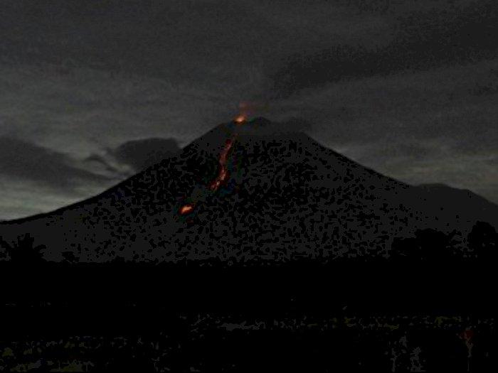 Peningkatan Aktivitas Gunung Semeru, BNPD Jatim Imbau Warga Waspadai Erupsi Susulan