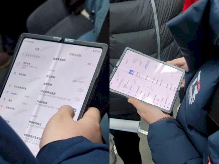 Beredar Foto Prototype Tablet Layar Lipat Buatan Xiaomi, Jalankan MIUI 12!
