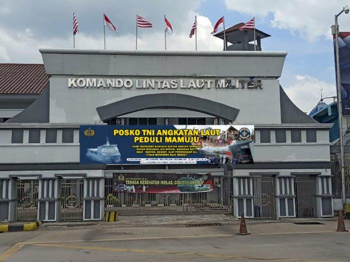 TNI AL Buka Posko di 3 Kota untuk Penyaluran Bantuan Bencana di Kalsel dan Sulbar