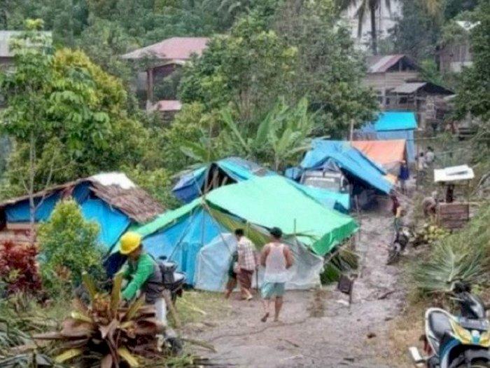 Akses Tertimbun Longsor, Enam Desa di Sekitar Titik Gempa Majene Sulbar Terisolir