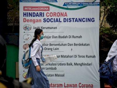 FOTO: Jumlah Siswa Menikah Selama Pandemi COVID-19 di NTB