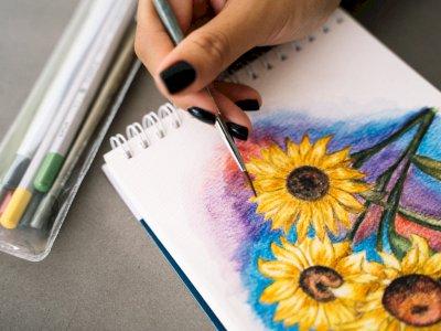 Selain Mendengarkan Lagu dan Makan, Menggambar Jugsa Bisa Bantu Redakan Stress