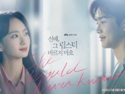 Sinopsis 'She Would Never Know' (2021) - Kisah Percintaan Rumit di Perusahaan Kosmetik