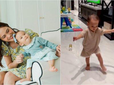 Takjub Lihat Anak Sudah Lancar Jalan, Shandy Aulia: 11 Bulan Lalu Masih di Pelukan
