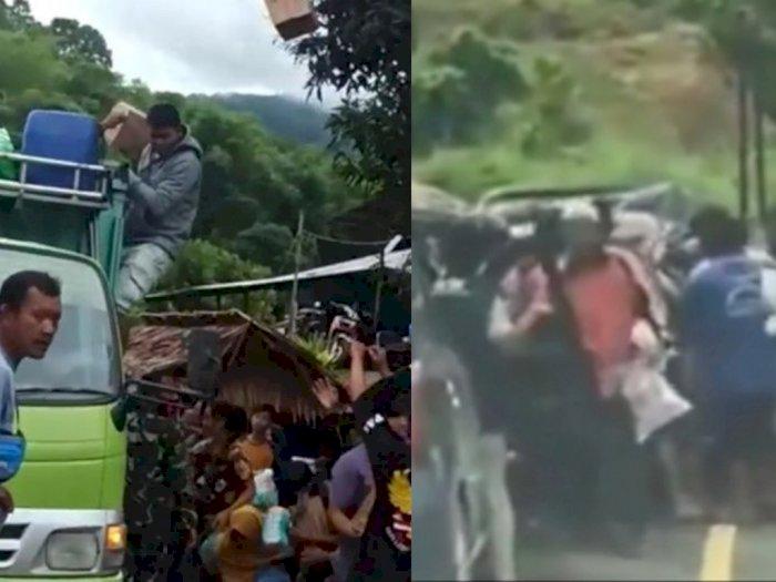 Mensos Risma Bantah Adanya Penjarahan Bantuan di Sulbar: Mereka Lapar!