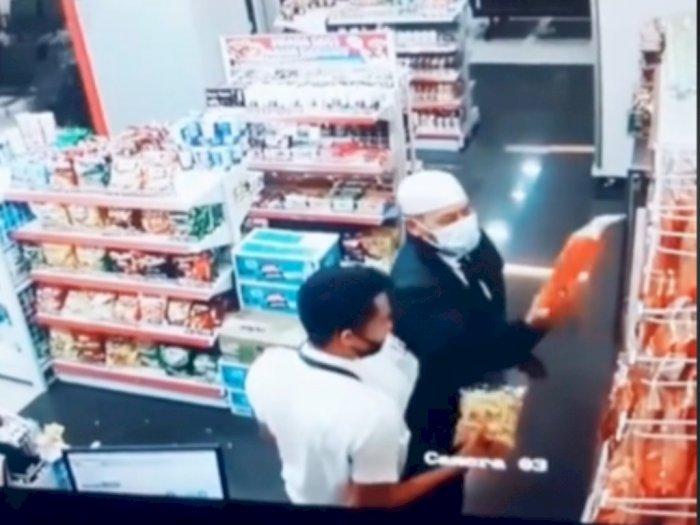 Viral Video Terakhir Kapten Afwan di Bandara, Kenakan Peci Putih dan Traktir Temannya