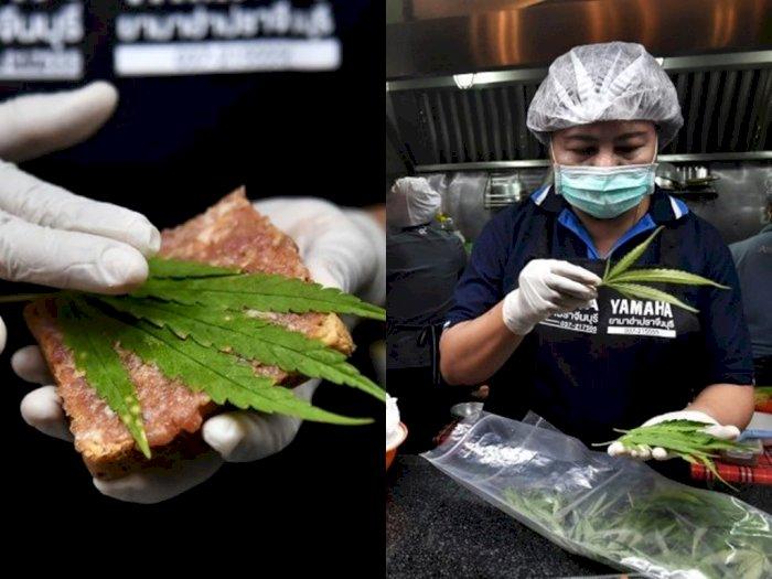 Rumah Sakit Ini Sediakan Makanan Berbahan Daun Ganja, Dimasukkan ke Roti Hingga Salad