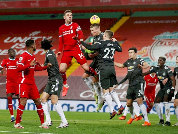Premier League: Liverpool 0-0 Manchester United, Berakhir Tanpa Pemenang