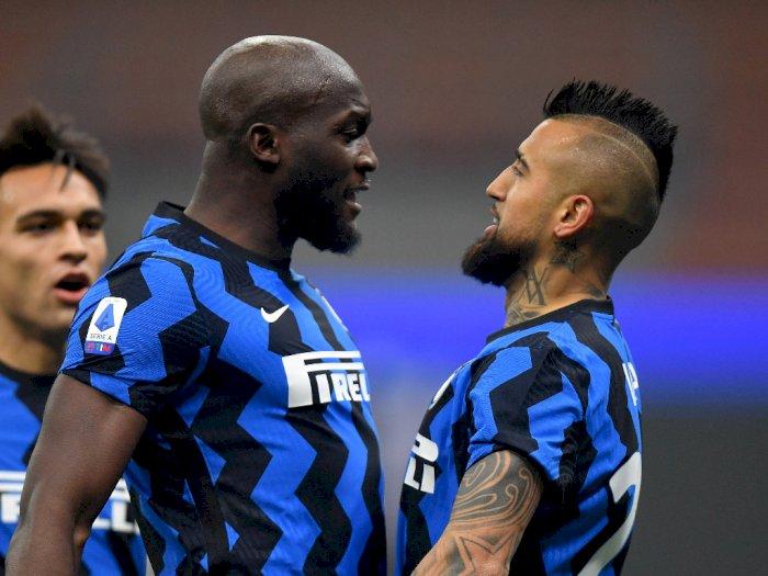 FOTO: Liga Italia, Inter Milan Tundukkan Juventus 2-0