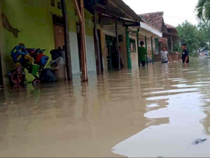 Digempur Hujan, Ratusan Rumah di Cirebon Terendam Banjir