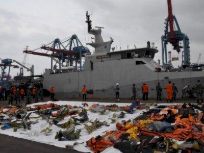 KNKT: Pihak Boeing Turut Identifikasi Puing Pesawat Sriwijaya Air SJ 182