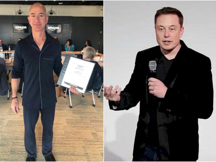 'Perlombaan Orang Kaya', Jeff Bezos Salip Elon Musk Jadi Orang Terkaya Sedunia