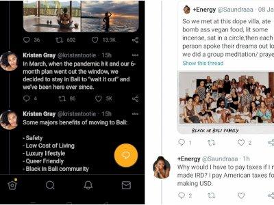 Bule Ini Dihujat Ajak WNA Pindah ke Bali di Tengah Pandemi, Overstay dan Ogah Bayar Pajak
