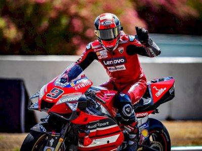 Danilo Petrucci Mengenang Balapan dengan Ducati dan  Andrea Dovizioso Usai 6 Tahun Bersama