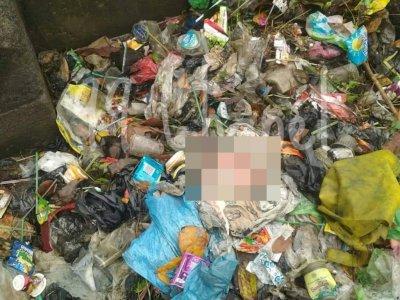 Teganya! Bayi Kembar Laki-laki Dibuang di Semarang, Dicampur Sampah Dimasukkan ke Plastik