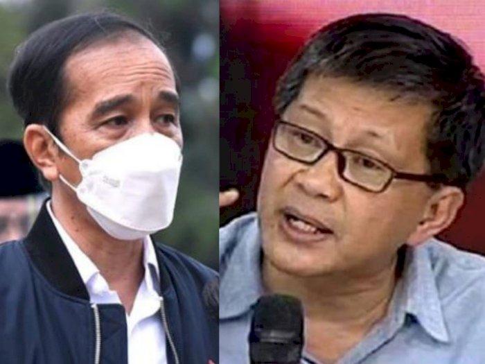 Rocky Gerung Sentil Jokowi Soal Banjir, 'Kok Sarjana Kehutanan Gak Ngerti Fungsi Pohon?'