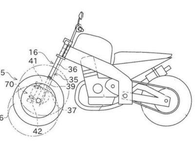 Paten Motor Roda Tiga Kawasaki Bocor, Calon Saingan Yamaha Niken
