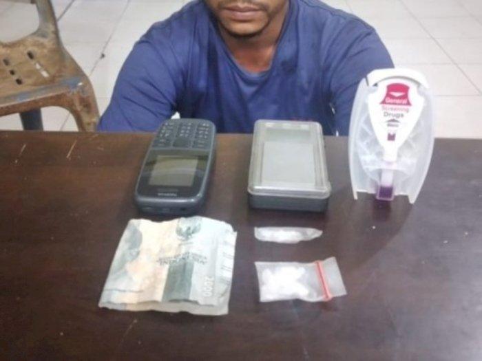Sambilan Jadi Pengedar Sabu, Satpam di Tanjung Balai Diciduk saat Sedang Transaksi