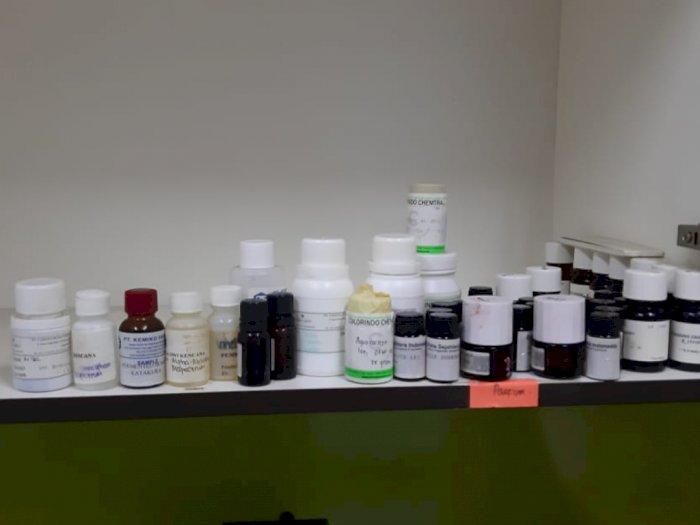 Bareskrim Grebek Pembuat dan Penjual Kosmetik Ilegal di Jakut