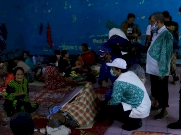 Tiga Kecamatan Tergenang Banjir, Ratusan Warga Pekalongan Terpaksa Mengungsi