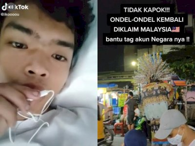 Hati-hati, Pria Ini Sebar Info Hoax Yang Membuat Perang Antara Indonesia Vs Malaysia